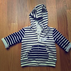 Striped sweatsuit, new with tags